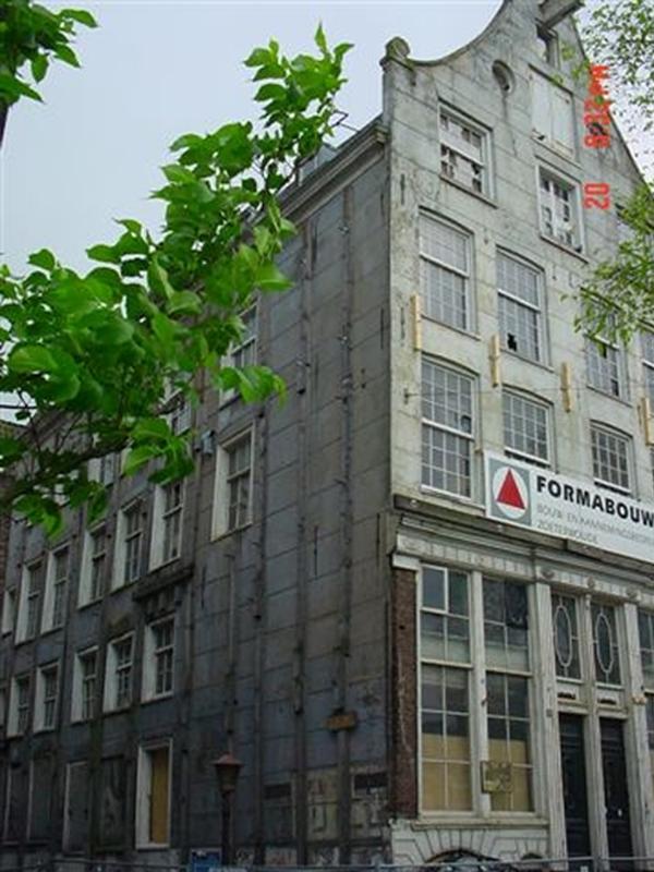 Amstel pand voor renovatie